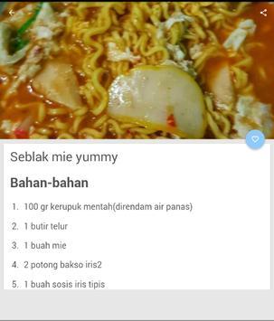 Resep Masakan Seblak Terbaru screenshot 3