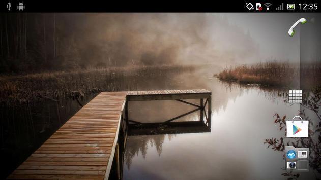 Foggy Live Wallpaper screenshot 1