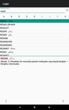 4 Schermata Osmanlıca Ansiklopedik Lugat
