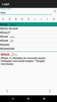 1 Schermata Osmanlıca Ansiklopedik Lugat