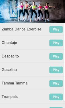 Zumba dance exercise video poster