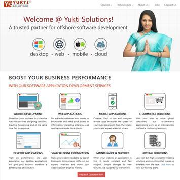 Yukti Solution Private Limited screenshot 1