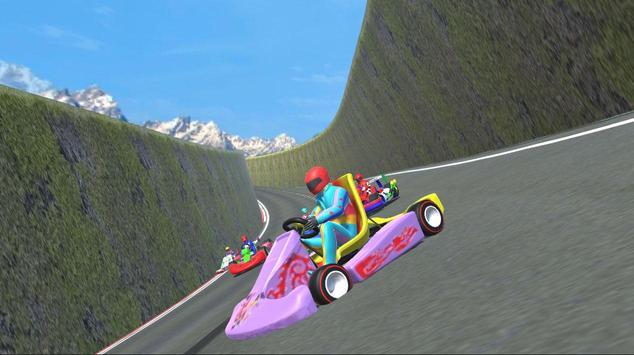 Kart Racing Free Speed Race poster