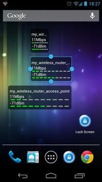 WiFi Status(Link Speed) Widget poster