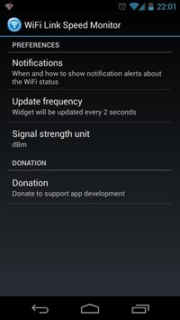 WiFi Status(Link Speed) Widget apk screenshot