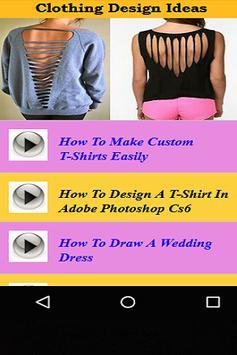 Clothing Design IDeas apk screenshot