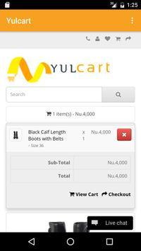 Yulcart-Bhutan's Shopping App apk screenshot
