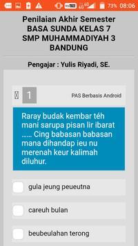 PAS Ganjil Basa Sunda kelas 8 screenshot 1