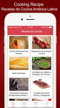 Cooking Recipe - Recetas de Cocina América Latina poster