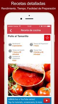 Cooking Recipe - Recetas de Cocina América Latina screenshot 1
