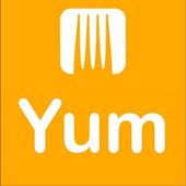 Yum Restaurant Application icon