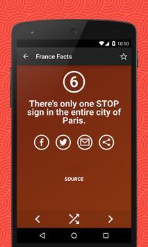 France Facts apk screenshot