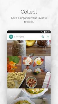 Yummly Recipes & Shopping List скриншот приложения