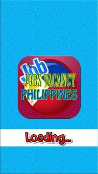 Find job vacancies in Philippines poster