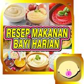 Resep Makanan Bayi Harian icon