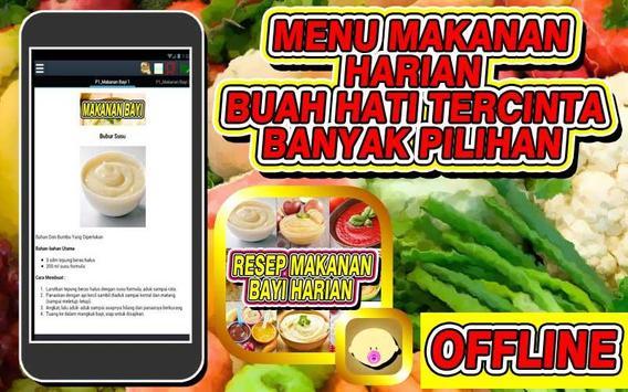 Resep Makanan Bayi Harian screenshot 2