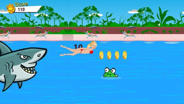 Beach Shark Attack for Barbie apk screenshot