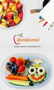 YumYummi Digital School Menus poster