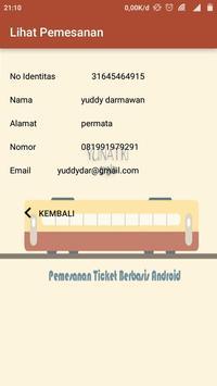 Pemesanan Tiket (yunatri train) apk screenshot