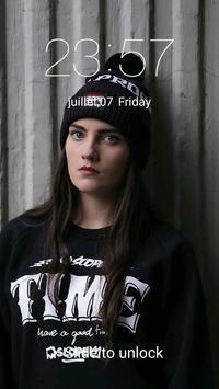 Lockscreen Iphone : Dark Theme apk screenshot