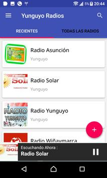 Radios de Yunguyo apk screenshot