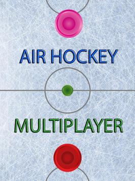 Air Hockey Multiplayer poster