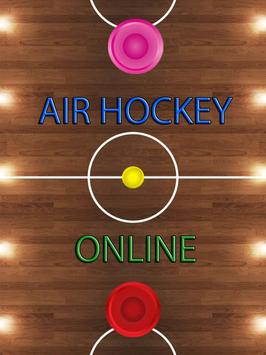 Air Hockey Online poster