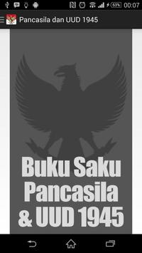 Buku Saku Pancasila & UUD 1945 poster