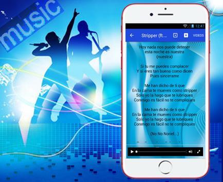 Andy Rivera - Stripper - Noriel. Musica y Letras screenshot 2