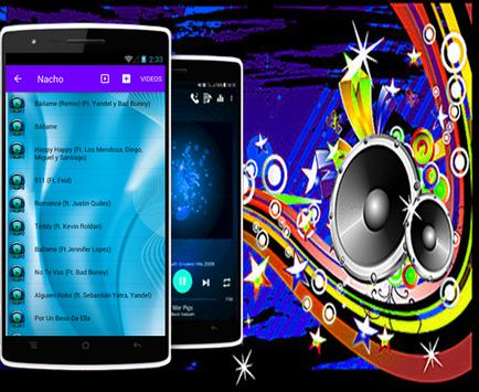 Nacho - Báilame (Remix) ft. Yandel, Bad Bunny apk screenshot
