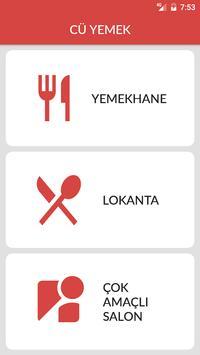CÜ Yemek apk screenshot