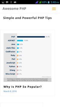 PHP Code apk screenshot