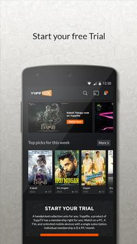 YuppFlix –Indian Movies online apk screenshot