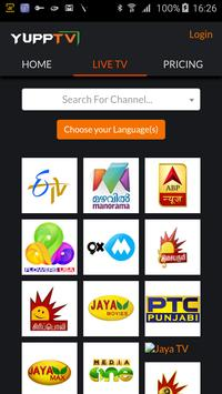 YuppTV, powered by Ooredoo screenshot 1