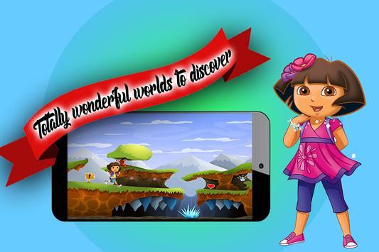 Princess dora jump 2 apk screenshot