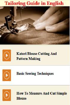Tailoring Guide in English screenshot 4