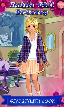 Anime Girl: Exclusive Dressup poster