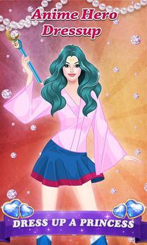 Anime Hero - Girl Dressup poster