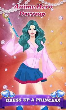 Anime Hero - Girl Dressup apk screenshot