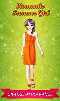 Romantic Summer Girl: DressUp poster