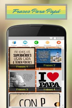 Frases y Imagenes Para Papas screenshot 10