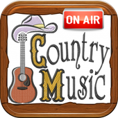Free Country Music Radio Stations icon