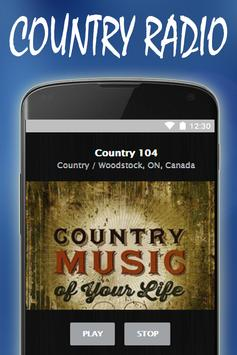 Free Country Music Radio Stations apk screenshot