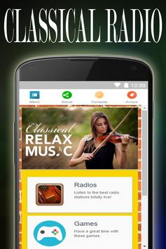 Classical Music Radio Stations poster