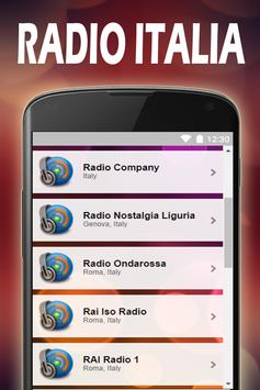 Italian Radio Station For Free apk screenshot