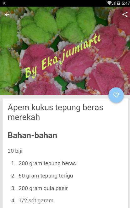 Aneka Resep Kue Basah Kukus For Android Apk Download