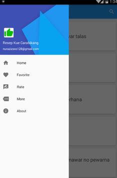 Resep Kue Carabikang screenshot 3