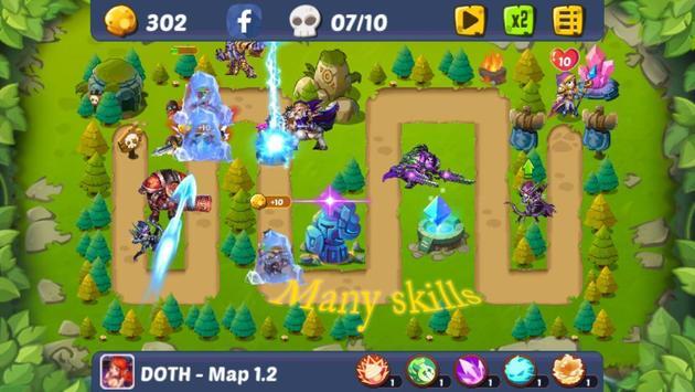 Defense of the Heroes screenshot 3