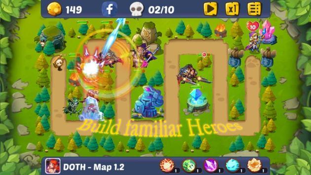 Defense of the Heroes screenshot 1