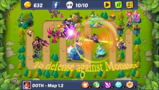 Defense of the Heroes screenshot 2